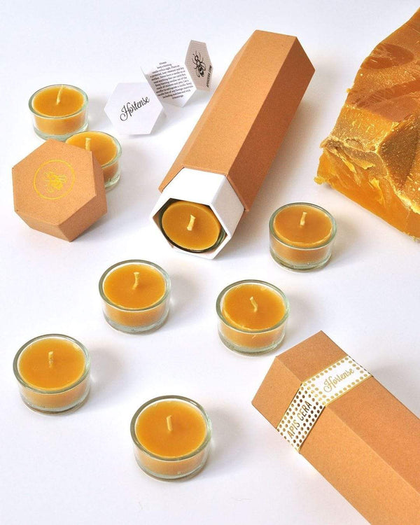 Apis Cera Candle Hortense Beeswax Tea Light Candles