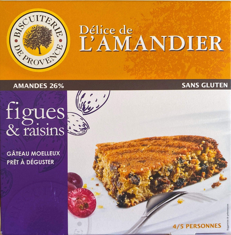 Biscuiterie de Provence cake Gluten-Free Figs & Grapes Almond Cake