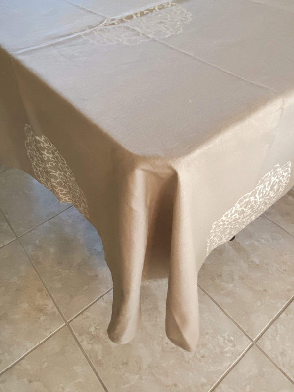 Les Olivades tablecloth Ecume de Santal Tablecloth