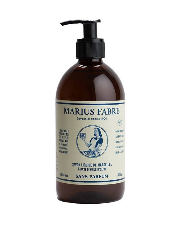 Marius Fabre liquid soap Marseille Liquid Soap No Fragrance
