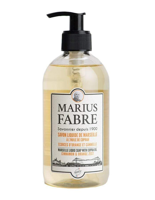 Marius Fabre liquid soap Marseille Liquid Soap Orange Zest & Cinnamon