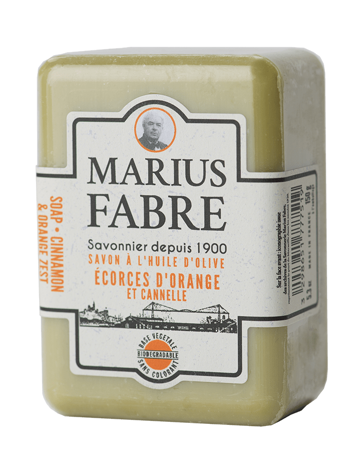 Marius Fabre soap Cinnamon & Orange Zest Soap