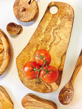 Natural OliveWood Cheese board Olive Wood Cheese Board