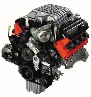 6.2L SUPERCHARGED CRATE HEMI® ENGINE