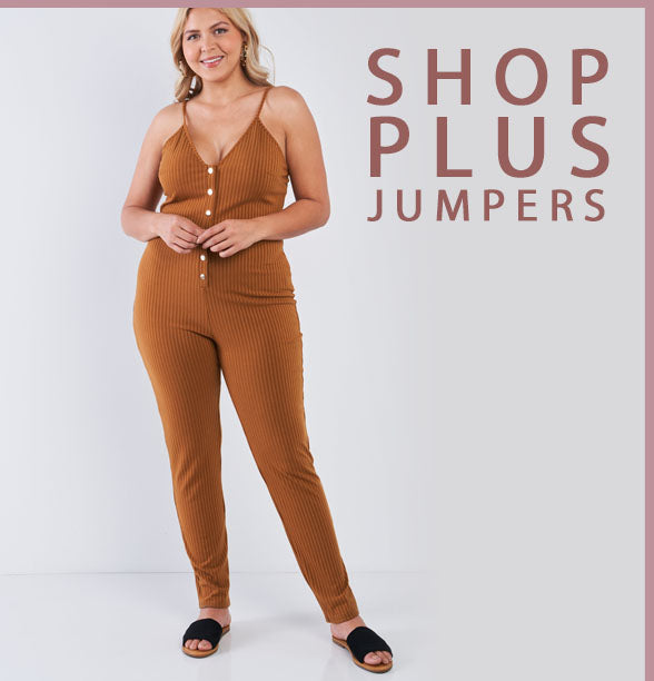 Sleeveless plus size jumpsuit - JNILLY.COM