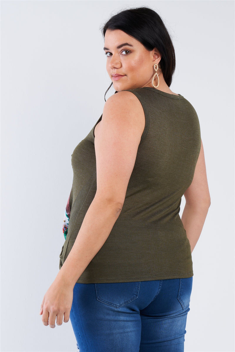 Plus Size Shady Girl Graphic Top - J NILLY