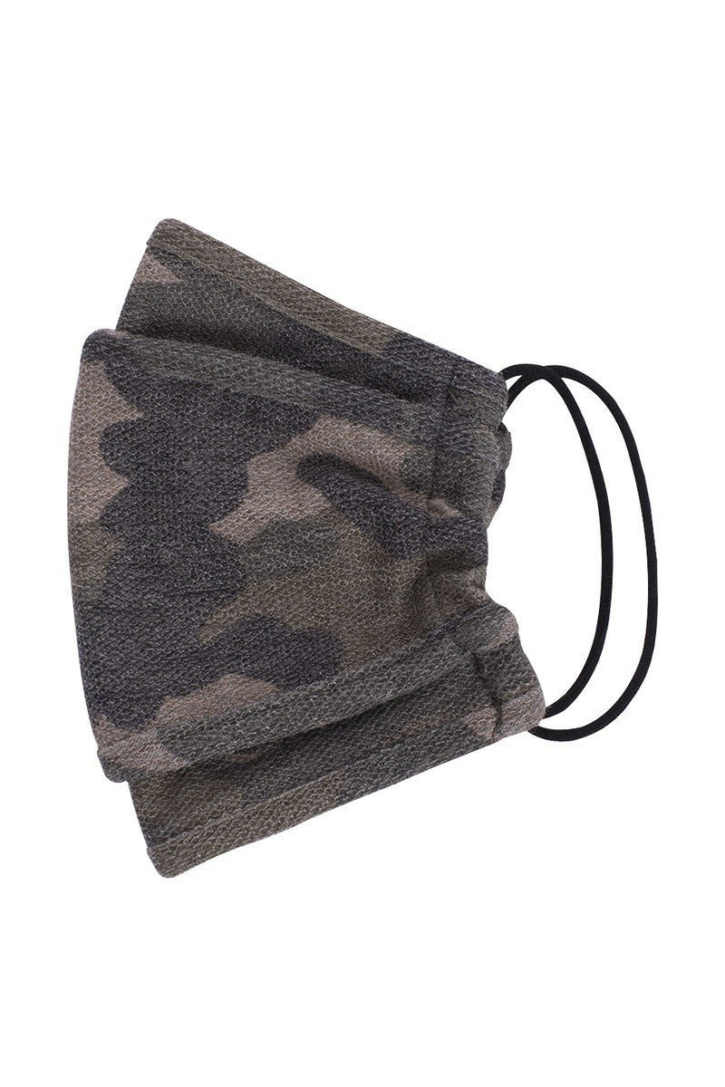 Camouflage 3d Reusable Face Mask - J NILLY