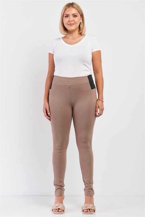 Plus Size Slim Legging Pants - J NILLY