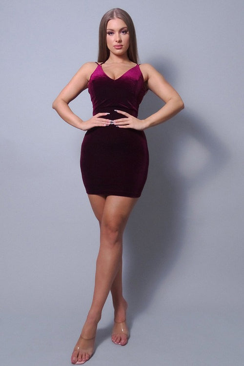 Showstopper, Sexy Crossover Strap Dress - J NILLY