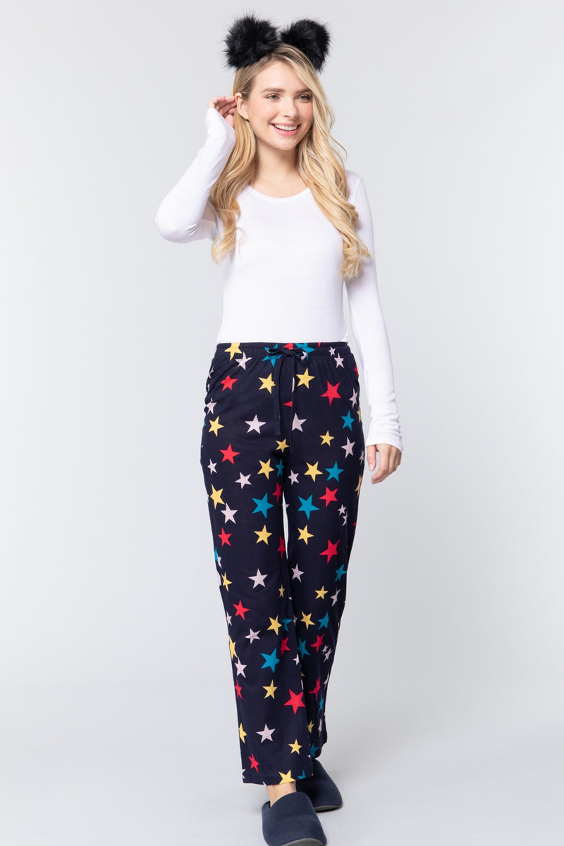 Star Print Cotton Pajama - J NILLY
