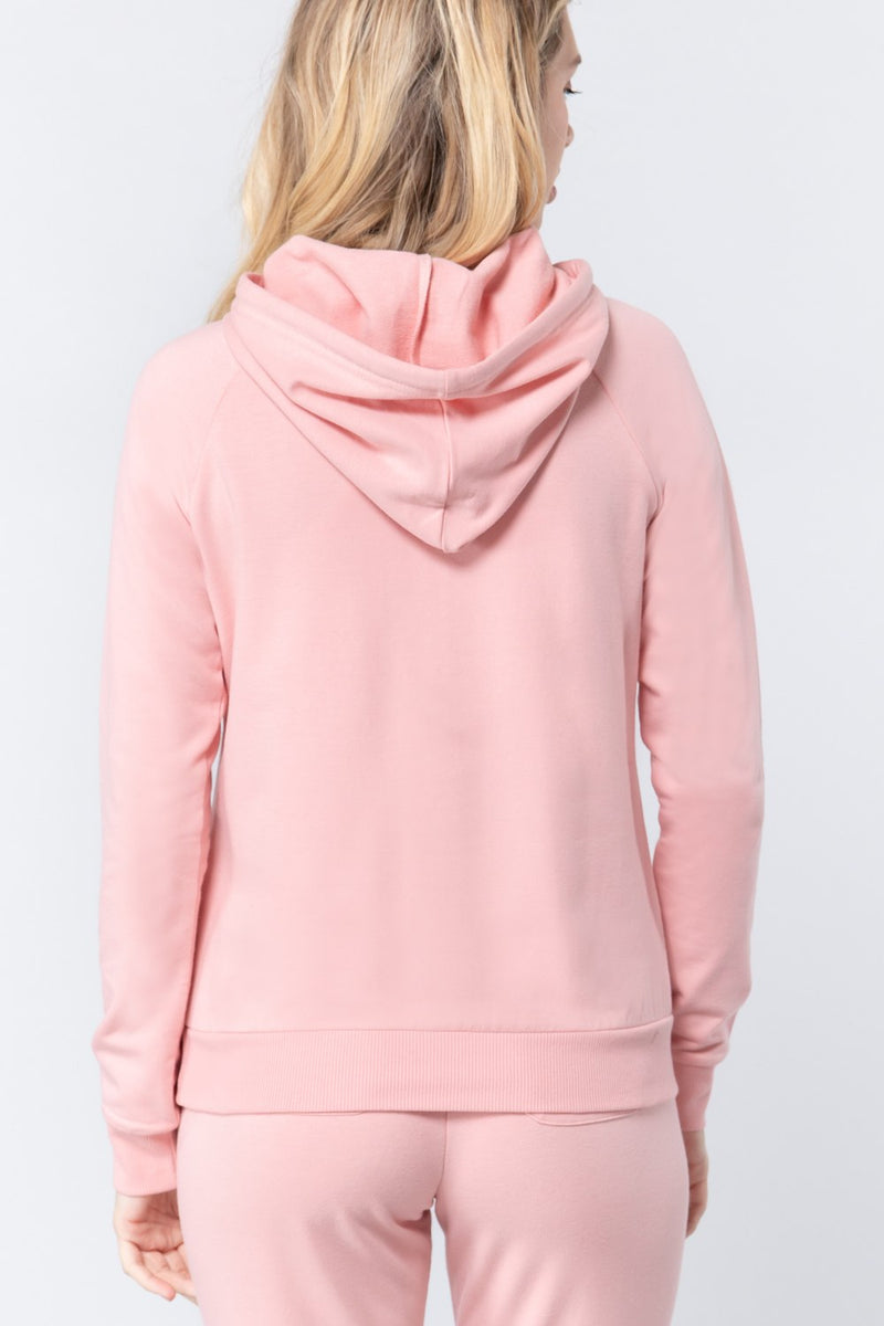 French Terry Pullover Hoodie - J NILLY