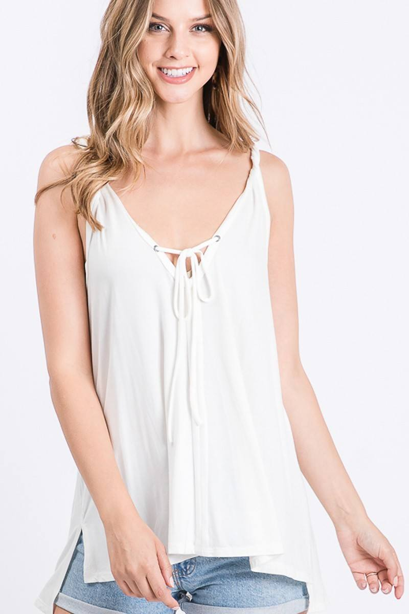 Lightweight This Flowy Tank - J NILLY