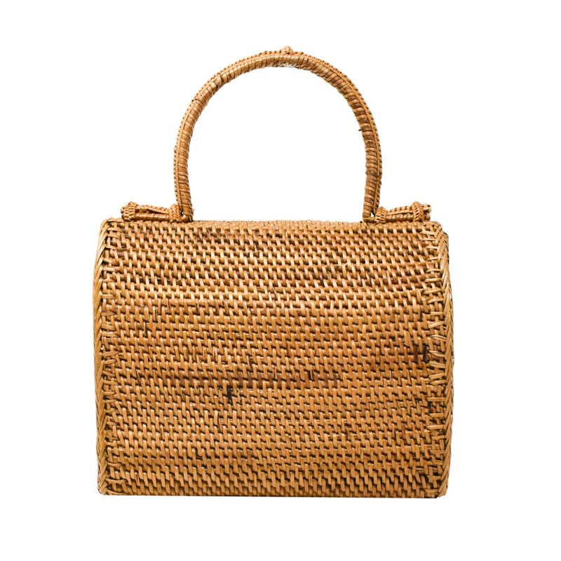 ALICE RATTAN HANDBAG - J NILLY