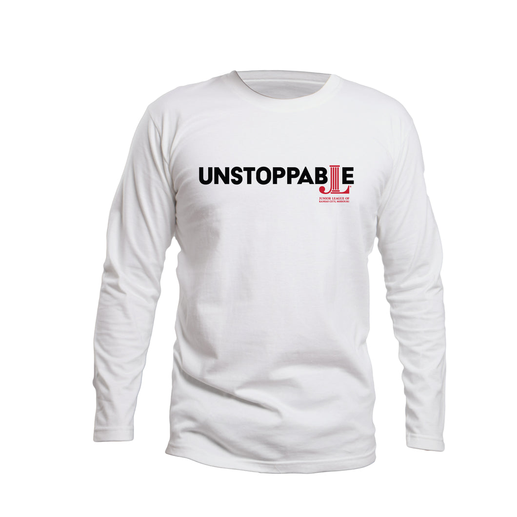 Unstoppable  L/S League Tee