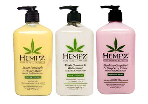 HEMPZ FRUIT COCKTAIL - Body Moisturizer Bundle