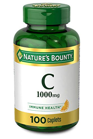 Vitamin C by Nature's Bounty for immune support
