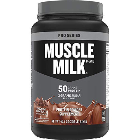 Muscle Milk Pro Series Protein Powder - Knockout Chocolate