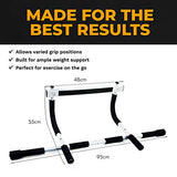 Pull Up Bar for Doorway - Exercise Equipment for Home Fitness
