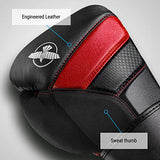 Hayabusa T3 Boxing Gloves for Men and Women - Black/Red, 10oz