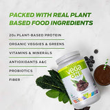Vega One Organic Meal Replacement Plant Based Protein Powder, Chocolate
