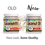 Nature's Way Organic Extra Virgin Coconut Oil, Pure & Unrefined, Cold-Pressed, USDA Organic, Non-GMO, 32 Ounce