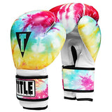 Title Boxing Tie-Dye Bag Gloves, Tie-Dye, Medium