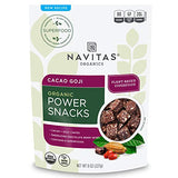 Navitas Organics Superfood Power Snacks, Cacao Goji Organic