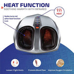 Belmint Shiatsu Foot Massager with Heat and Air Compression