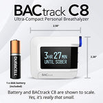 BACtrack C8 Breathalyzer - Smartphone Bluetooth Connectivity