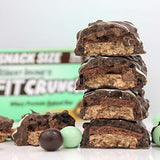 FITCRUNCH Snack Size Protein Bars  (9 Snack Size Bars, Mint Chocolate Chip)
