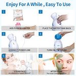 Facial Steamer - Home Facial Humidifier Warm Mist Steam Face Machine