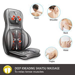 Comfier Neck and Back Massager with Heat- Shiatsu Massage Chair