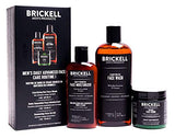 Brickell Men's Daily Advanced Face Care Routine