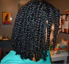 A black person with two strand twists