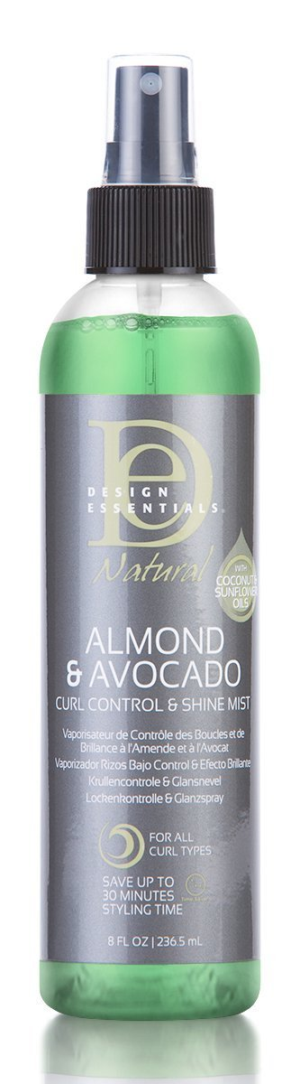 Design Essential Almond & Avocado Curl Control & Shine - Blacktivity Beauty Supply