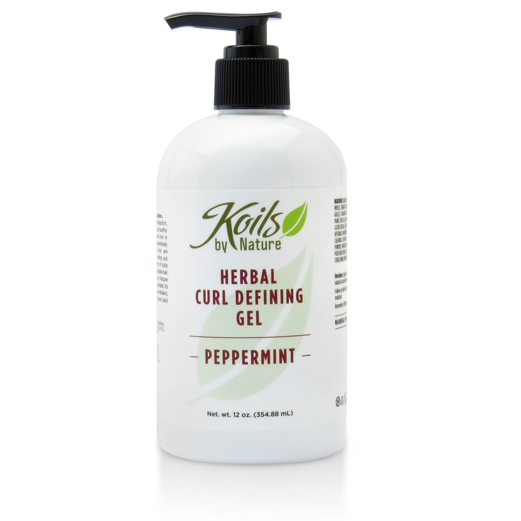 Koils by Nature Herbal Curl Defining Gel-Peppermint - Blacktivity Beauty Supply