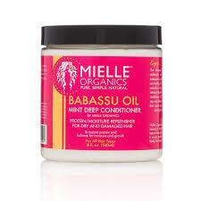 Mielle Organics Babassu Oil & Mint Deep Conditioner - Blacktivity Beauty Supply
