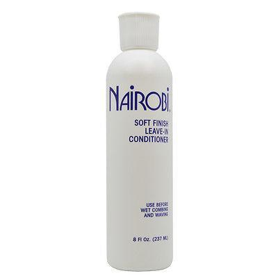 Nairobi Soft Finish Leave In Conditioner - Beauty Bar & Supply