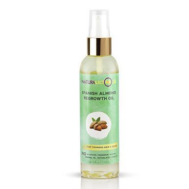 Naturalicious Spanish Almond Regrowth Oil - Blacktivity Beauty Supply