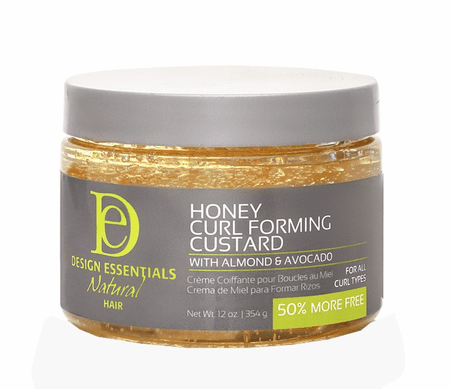 Design Essentials Natural Honey Curl Forming Custard with Almond & Avocado