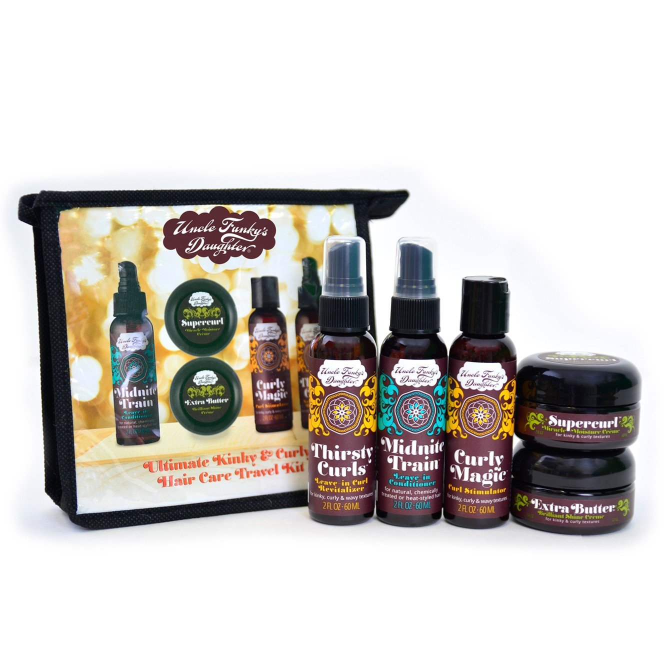 Uncle Funky's Daughter Ultimate Kinky & Curly Kit - Beauty Bar & Supply
