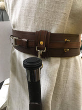 Load image into Gallery viewer, Jedi lightsaber clip, leather