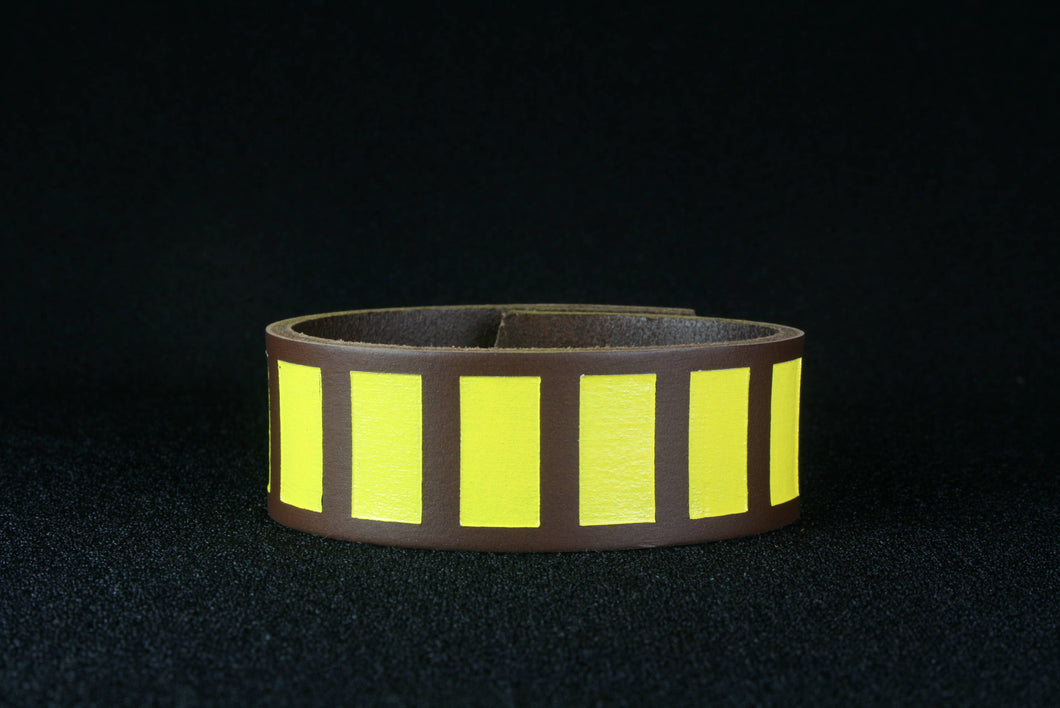 Han Solo inspired leather cuff bracelet ESB