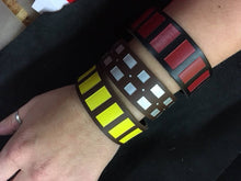 Load image into Gallery viewer, Co-Pilot Cuff Star Wars Chewbacca bandolier inspired leather cuff bracelet