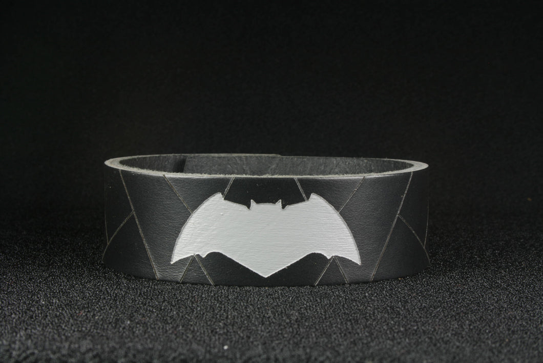 The Bat leather Character Cuff