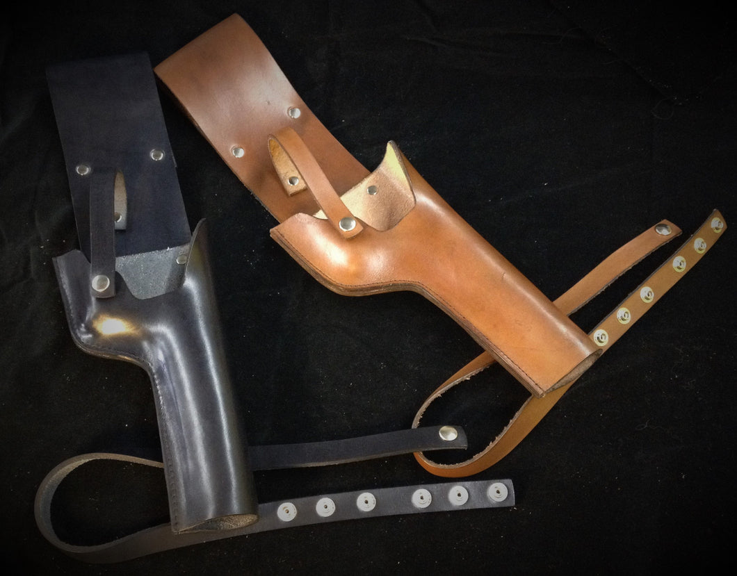 Mauser Holster, leather holster rig, Steampunk and Star Wars