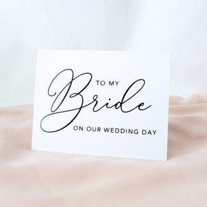 Bride + Groom Card Set