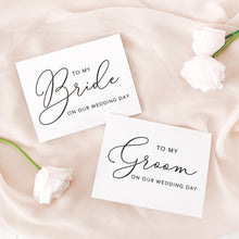 Load image into Gallery viewer, Bride + Groom Card Set