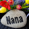 Nana Garden Gift - Nana Gift - Grandparent's Day Gift - Nana's Garden - Grandparent Rock - God Rocks - Custom Rock -Engraved Garden Stones