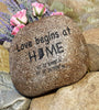 New House Gift - Address Rock - Garden Decor Rock - Housewarming Gift - Address Garden Stone - Garden Art - God Rocks - First Home Gift -